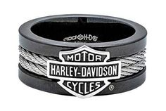 Harley-Davidson Men's Ring. Made of Stainless Steel. Features a Harley-Davidson Name - Harley-Davidson Men's Ring - Made of Stainless Steel - Harley-Davidson around band Please allow 4-7 days for ship #harleydavidsonclothing