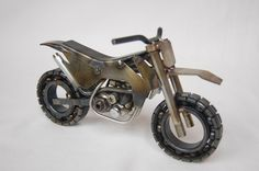 KTM Motorcycle Metal Art Dirt Bike by AjaxMetalWerx on Etsy https://www.etsy.com/listing/214575187/ktm-motorcycle-metal-art-dirt-bike