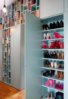 books & shoes! Arkitekttegnede hyller av mdf