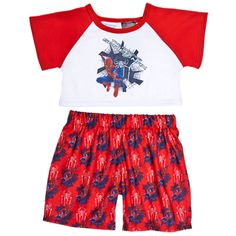 The Amazing Spider-Man PJs 2 pc. - Build-A-Bear Workshop US