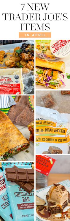 7 New Finds at Trader Joe's You Have to Try in April #purewow #spring #shopping #food #grocery store #trader joes