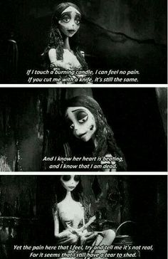 Corpse Bride Quotes articles de gifs quotes taggs corpse bride skyrock best movie quotes the corpse bride tim burton best movie c. da sposa ❤️ the corpse bride this is what happens when you are broken Film Tim Burton, Tim Burton Art, Dreamworks, Corpse Bride Quotes, Tim Burton Corpse Bride, Emily Corpse Bride, Estilo Tim Burton, Citations Film, Under Your Spell
