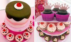 Decoração festa de aniversário infantil - cupcake party
