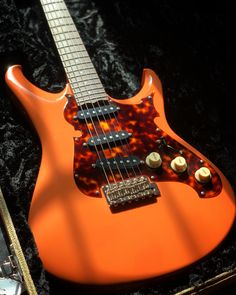 """Another very cool addition to our Vault collection, this Scott Walker S-Style electric guitar is equipped with three Lollar Blackface pickups and a bolt-on maple neck with a """"Nodel"""" neck joint. Check it out at elderly.com/vault. Electric Guitars, Vaulting, Cool Stuff, Check, Collection, Style, Swag, Outfits"""