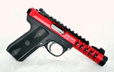 """Ruger 22/45 Lite Red Anodized .22 LR 4.4"""" [New in Box] $419.99 