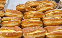 Bomboloni – Álom puha olasz fánk recept fotóval Italian Recipes, Italian Foods, Pretzel Bites, Bread, Cakes, Dios, Cake Makers, Brot, Kuchen
