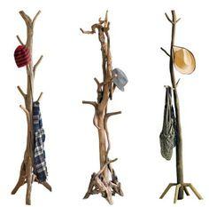 lamparas con troncos de arbol - Buscar con Google