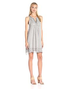 Joie Women's Astor Silk Dress, Stone Grey, Small -- Check this awesome product by going to the link at the image.