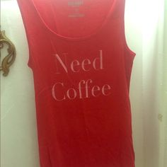 need coffee tank Worn once Old Navy Tops Tank Tops