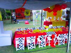 Ferrari birthday party ideas
