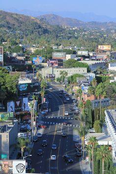 Sunset Boulevard, Los Angeles. #OjalaEstuvierasAqui en #LosAngeles #California #USA con #BestDay