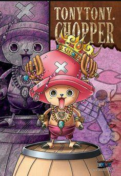 ONE PIECE, Tony Tony Chopper, Official Art
