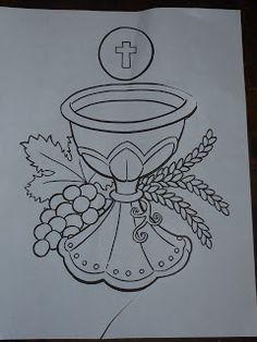 Creative Thriftiness: First Communion Banner