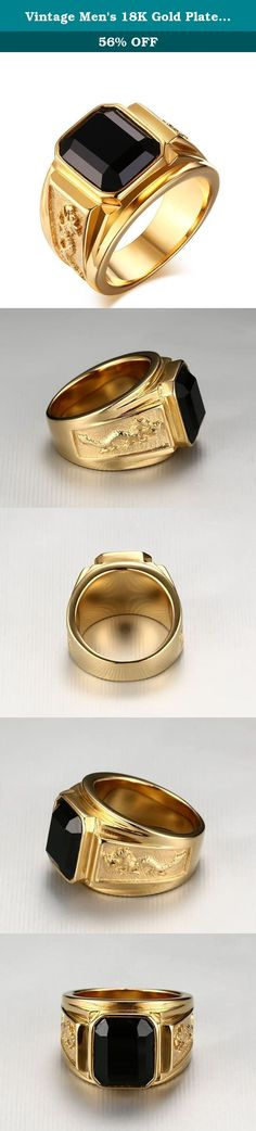 Vintage Men's 18K Gold Plated Stainless Steel Rings with Agate Gemstone,Size 8 to 12. BBX Jewelry: Your Reliable Choice of Fashion Jewelry High average review rating of jewelry collection. All handmade jewelry, well polished and one by one quality controlled. Affordable prices and luxury appearance. BBX Jewelry Mens Womens Stainless Steel Stud Earrings Pierced Black 3-8mm 6 Pairs One order includes 6 pairs in different sizes 3-8mm. You can choose different sizes to match your suits…