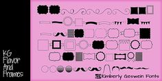 Cute Frames & Banners - Free Download