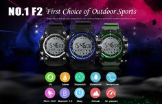 Heart Rate Monitor Pedometer Sport Smart Watch For iPhone X Samsung Running Distance, Watch For Iphone, Best Smart Watches, New Mobile Phones, Samsung, Fitness Tracker, Sport Watches, Cell Phone Accessories, Bluetooth