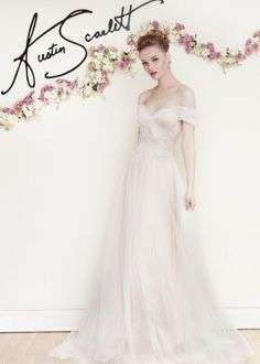Vestidos de novia con hombros caídos 2016: La mejor selección para tu look nupcial Image: 20