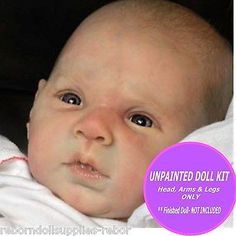 "GABRIEL Doll Kit ~ to make your own REBORN Baby ~ 20"" vinyl kit - Michelle Fagan"
