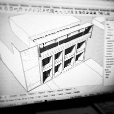 #DEARstudio Evoluzione #concept #design #architettura #virtual #model #rhinoceros