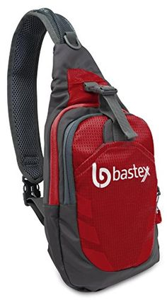 a8da844d6df2 Bastex On the GO Red Shoulder Bag Gym Sports Backpack Outdoor Chest Pack
