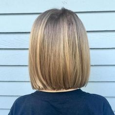 50 Cute Haircuts for Girls to Put You on Center Stage Blunt Lob For Girls Bob Haircut For Girls, Little Girl Haircuts, Girls Short Haircuts, Haircuts For Long Hair, Bob Hairstyles, Teenage Hairstyles, Toddler Hairstyles, Natural Hairstyles, Female Hairstyles