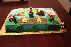 SUPER MARIO BROTHERS'S CAKE