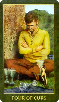 4 of Cups...The Folklore Tarot Deck