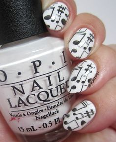 """OPI """"Alpine Snow"""" and stamping from Born Pretty Store's BP-47/"""