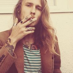 men with tattoos and long hair - Αναζήτηση Google