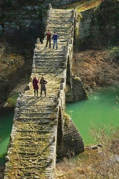 Kalogeriko Bridge, Epirus, Zagori, Greece
