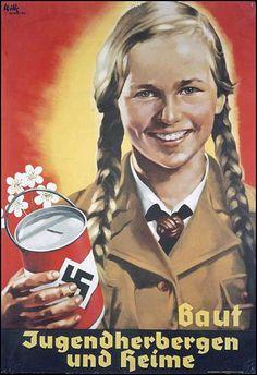 Nazi Propaganda Poster - Support FemiNazi Youth