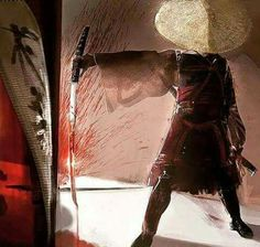 Not a huge fan of gory samurai art, but i do like this one