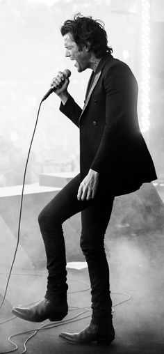 Brandon Flowers - the person I can always go back to . I love his music