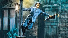 """See this in the 1952 classic """"Singin' in the Rain"""", staring Gene Kelly, Debbie Reynolds, Donald O'Connor, and Jean Hagen. Singin' in the Rain musical film Gene Kelly, John Snow, 10 Film, Kirk Douglas, Fred Astaire, Ray Charles, 3 Movie, Movie List, Baker Street"""
