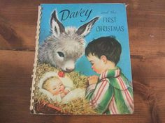 Davey and the First Christmas Vintage Pop-Up Book by jessamyjay