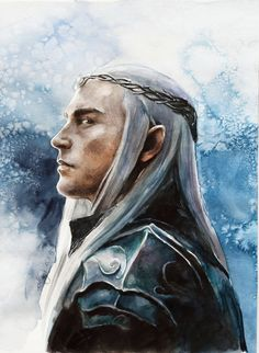 Thranduil by maya-Notliketheother elf fighter knight paladin prince armor clothes clothing fashion player character npc | Create your own roleplaying game material w/ RPG Bard: www.rpgbard.com | Writing inspiration for Dungeons and Dragons DND D&D Pathfinder PFRPG Warhammer 40k Star Wars Shadowrun Call of Cthulhu Lord of the Rings LoTR + d20 fantasy science fiction scifi horror design | Not Trusty Sword art: click artwork for source