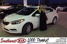 Chris was an excellent car consultant! He made sure that I didn't leave with a car that would leave me drowning in payments, he was very understanding of my price range and recommended a car within my budget. I really appreciated that. Overall great experience. -Edith Montero, Wednesday 6/29/2016 http://www.southwestkia-rockwall.com/?utm_source=Flickr&utm_medium=DMaxx&utm_campaign=DeliveryMaxx