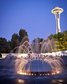 Seattle Center International Fountain