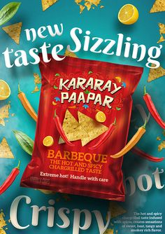 Yet another amazing packaging design, concepts and packaging examples of popular branding and student projects. Creative packaging of product is targeted all Food Design, Food Graphic Design, Food Poster Design, Design Ideas, Design Trends, Design Design, Modern Design, Chip Packaging, Packaging Snack