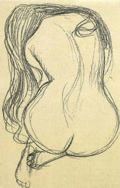 Gustav Klimt: Woman (It's art, not to be censored)