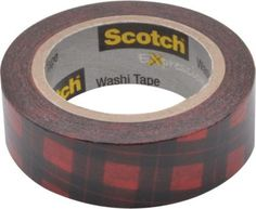 Staples®. has the Scotch® Expressions Washi Tape, Red Buffalo Plaid, 3/5'' x 393'' you need for home office or business. FREE delivery on all orders over $19.99, plus Rewards Members get 5 percent back on everything!