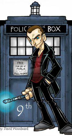 DOCTOR 9 - Christopher Ecclestone