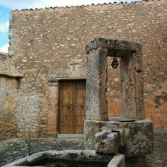Old farmhouse well #Llucmajor #mallorca #architecture #texture