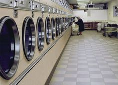 """Laundromat"" oil, 2006 - Max Ferguson"