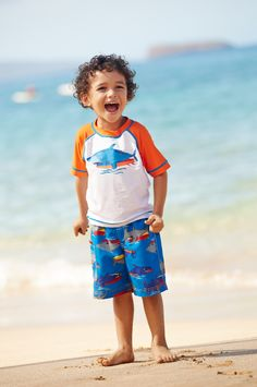 Toddler beachwear | #kidsfashion