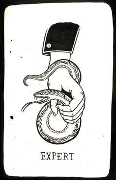 Snake charmer!     via @http://supersonicelectronic.com