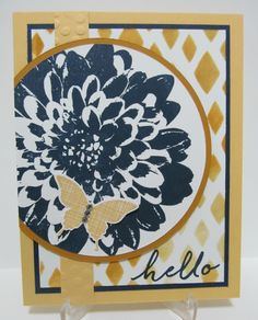Savvy Handmade Cards: Trio of Definitely Dahlia Cards - SU - Definitely Dahlia, Kinda Eclectic (Butterflies) and Watercolor Wishes (Sentiments)