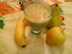 Smoothie pomme, poire et banane