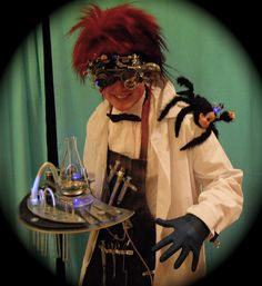Mad scientist costume 2010 by jollywoodchopper, via Flickr