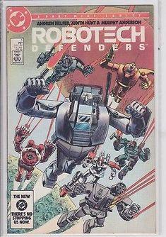 Robotech Defenders #1 DC Comics 1985 Manga Anime comic book vintage 1st issue